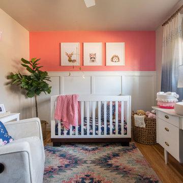 Blue & Pink Nursery