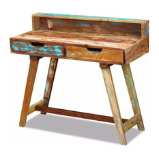 vidaXL Solid Reclaimed Wood Desk