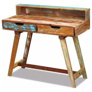 vidaXL Solid Reclaimed Wood Desk