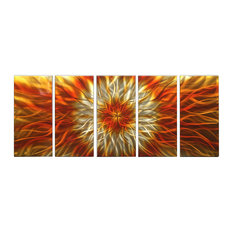 Large Metal Wall Art large metal wall art | houzz
