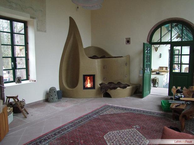 wohnzimmer by lehm und feuer - Wintergarten Entwirft Irland