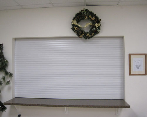 Roll Pro Cabana, Service, Parts Counter Roll Shutters And Roll Up Doors    Products
