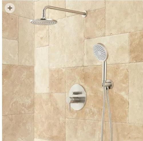 shower head and handheld without using