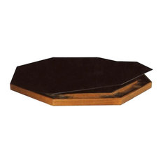Kestell - Deluxe Upholstered Folding Service Top, 57 quot;, Black - Table Tops And Bases
