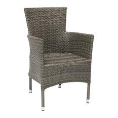 Atlanta Stackable Dining Chair, Grey