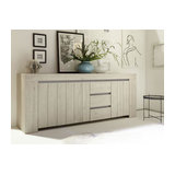 Palmira 3 door 3 drawer sideboard