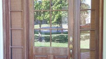 Wood Door Refinishing