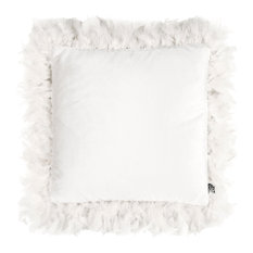Joselyn Feather Frame Cushion, Off White
