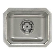 Sterling UCL1515B Springdale Stainless Steel Bar Sink Fixture