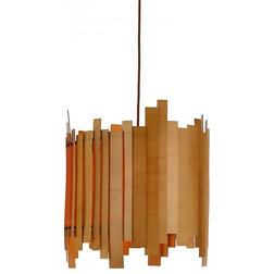 plywood lighting. contemporary pendant lighting modern style wooden light in drum shape with irregular edge plywood
