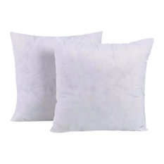Sterilized Extra Fill Hypoallergenic Poly Fill With Non-Woven Fabric, Set Of 2,