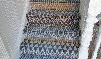 Alternative Flooring, Fairisle Annie, installation on stairs and landings