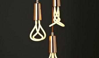 Drop-Cap Pendant Set, Copper