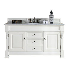 "60"" Vanity Cabinet, Cottage White, No Counter Top"