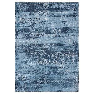 Bobohemian 8691 Como Ocean Rug, Blue, 140x200 cm