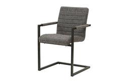 Gerald Arm Chairs, Set of 2, Kalahari Gray