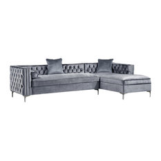 Nailhead Trim Sectional Sofas Houzz