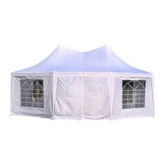 Aosom - Outsunny 22u0027x16u0027 Large Octagon 8-Wall Party Gazebo Canopy Tent  sc 1 st  Houzz & 16X16 Gazebos u0026 Canopies | Houzz