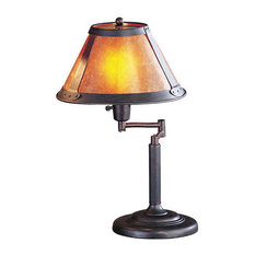 60W Swing Arm Mica Desk Lamp