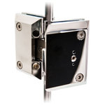 Coastal Shower Doors - Coastal Paragon Series Soft-Close Shower Door Hinges, One Pair, Polished Chrome - Sold as a Pair | One set of two (2) Paragon Soft-Close Shower Door Hinges | Polished Chrome | Glass To Glass by Coastal Shower Doors