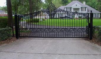 Decorative Aluminum Gate