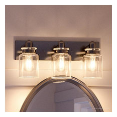 50 Most Popular Farmhouse Bathroom Vanity Lights For 2021 Houzz