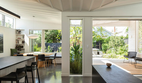A Classic Closed-In Villa Opens Up to the Garden