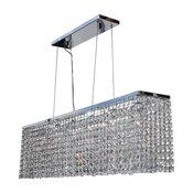 "Lightupmyhome 40"" Rectangular Dining Room Crystal Chandelier"
