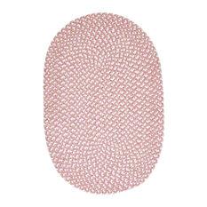 Confetti Rug, Pink, 12'x15' Oval