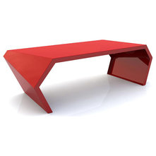 Modern Coffee Tables Pac Coffee Table (Red)