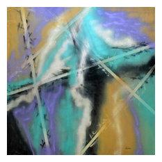 """Sky High"" by Paul Laoria, Giclee Canvas Wall Art, 30""x30"""