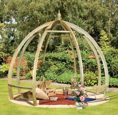 Contemporary Pergolas by GardenSite