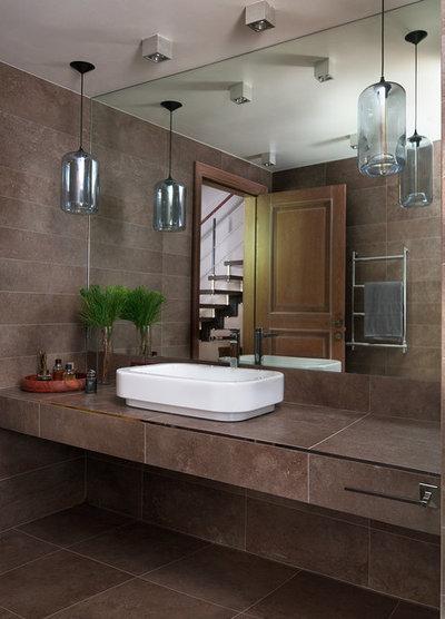 Современный Ванная комната Ванная мальчика