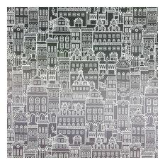 "Little City Privacy Window Film, Non-Adhesive, Standard 36""x48"""