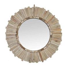 EMDE Natural Wood Mirror
