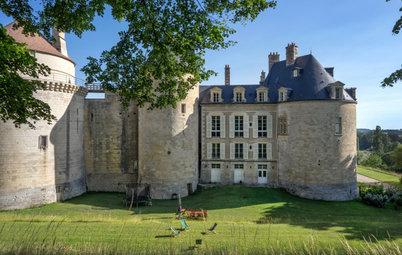 Avant/Après : Un château modernisé pour une jeune famille