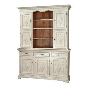 Paula Deen Home Hutch Buffet, Linen - China Cabinets And Hutches - by Emma Mason