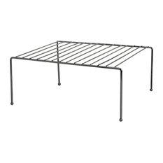 Home Basics Black Onyx Helper Shelf