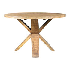 """Golden Round Dining Table, 48"""""""