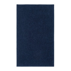 OurSpace Bright Area Rug, 7'x10', Midnight Navy Blue