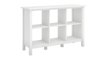 Broadview 6 Cube Storage Bookcase, Pure White