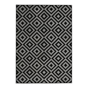 Mantra MT89 Rug, Grey and Black, 160x220 cm