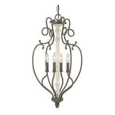 french country lighting. Capital Lighting Fixture Company - Vineyard 4-Light Foyer Pendants, French Country Pendant