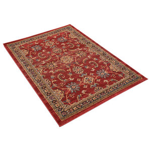 Ziegler 347 Red Rectangle Traditional Rug 120x170cm