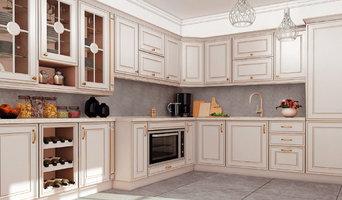 Кухни с фасадами SIDAK Классическая коллекция