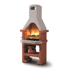 LaToscana Corea Charcoal Grill/Fireplace Adjustable In 3 Heights