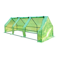 Outsunny 9'x3'x3' Portable Flower Garden Greenhouse