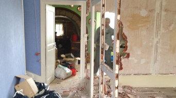 Rénovation d une maison au pied des vignes
