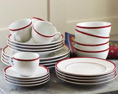 Modern Holiday Dinnerware by Williams-Sonoma