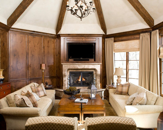 SaveEmailMediterranean Living Room Design Ideas Remodels Photos HouzzLong Narrow Houzz Example Of A Trendy